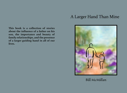 A Larger Hand Than Mine Softcover Cover for CreateSpace