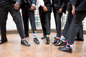 wedding day socks