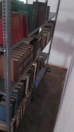 Beginnings of the new Library
