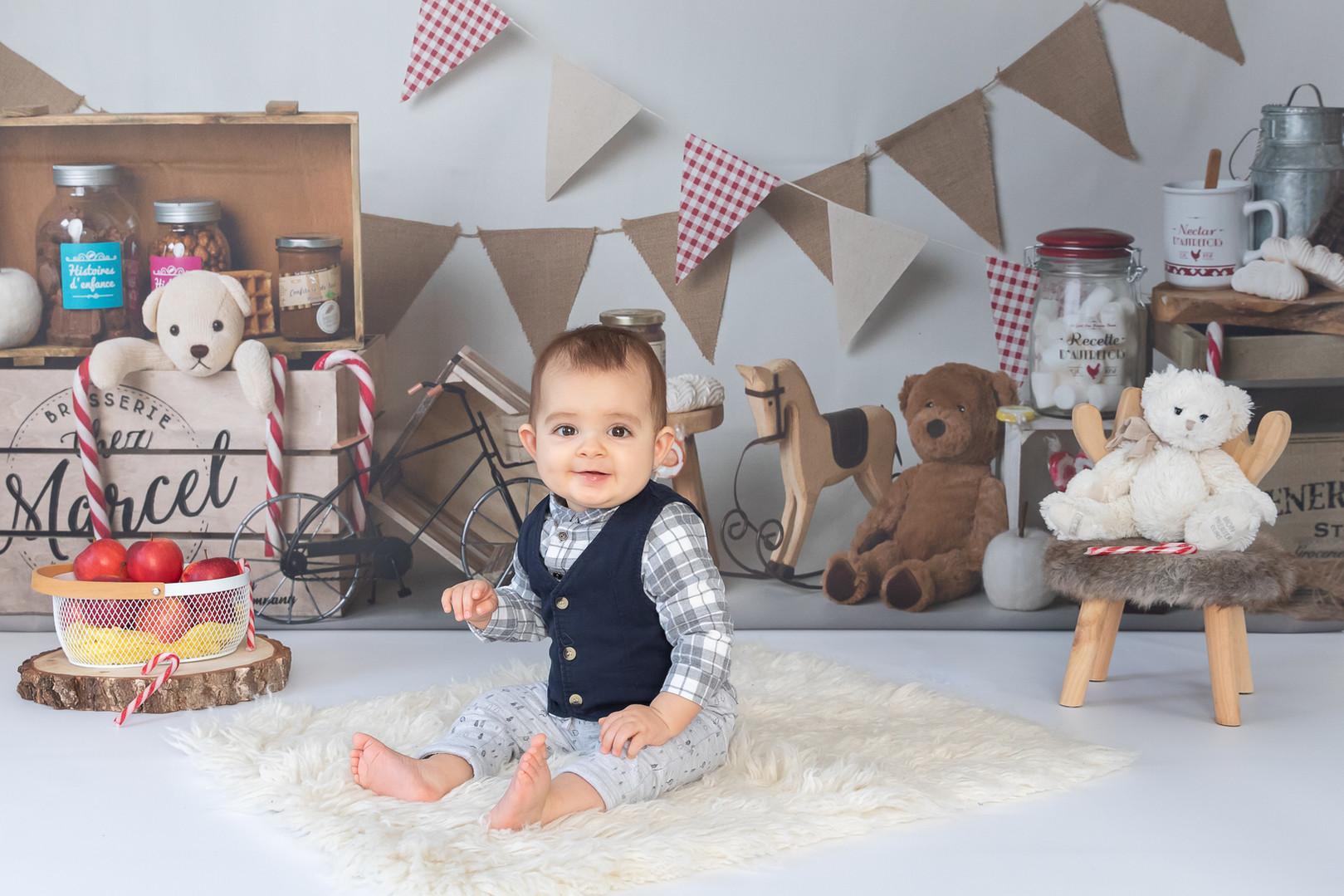 séance photo bébé 6/9 mois
