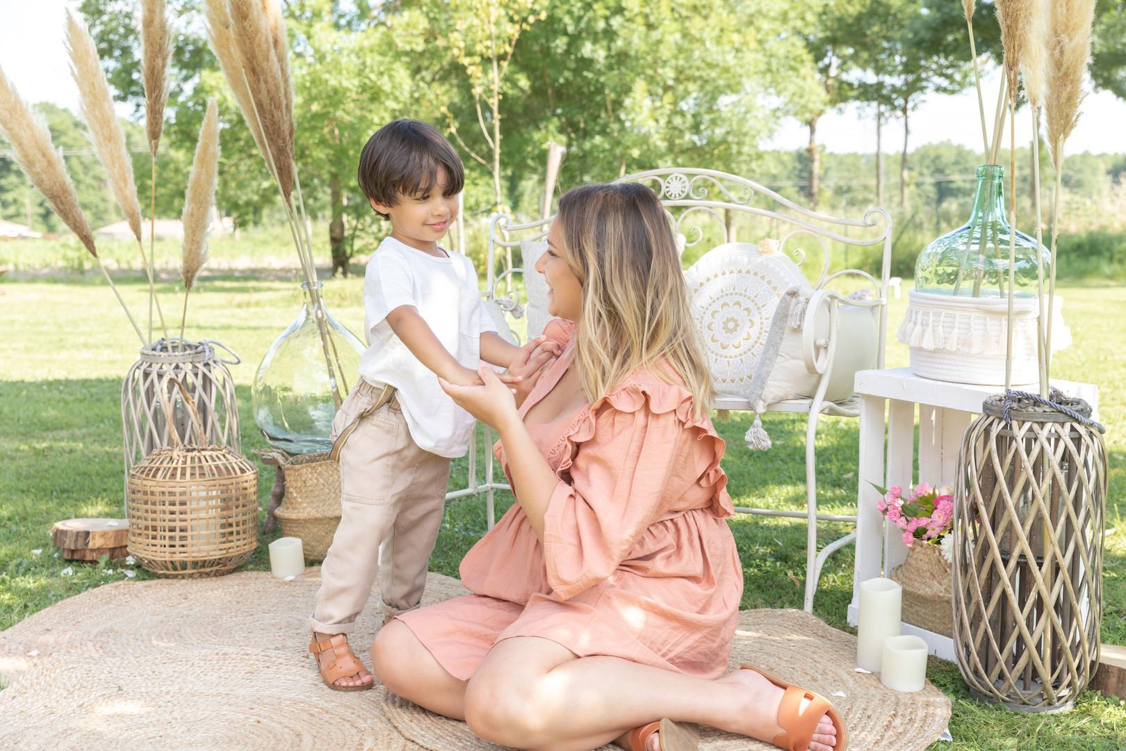 mini séance photo fête des mères