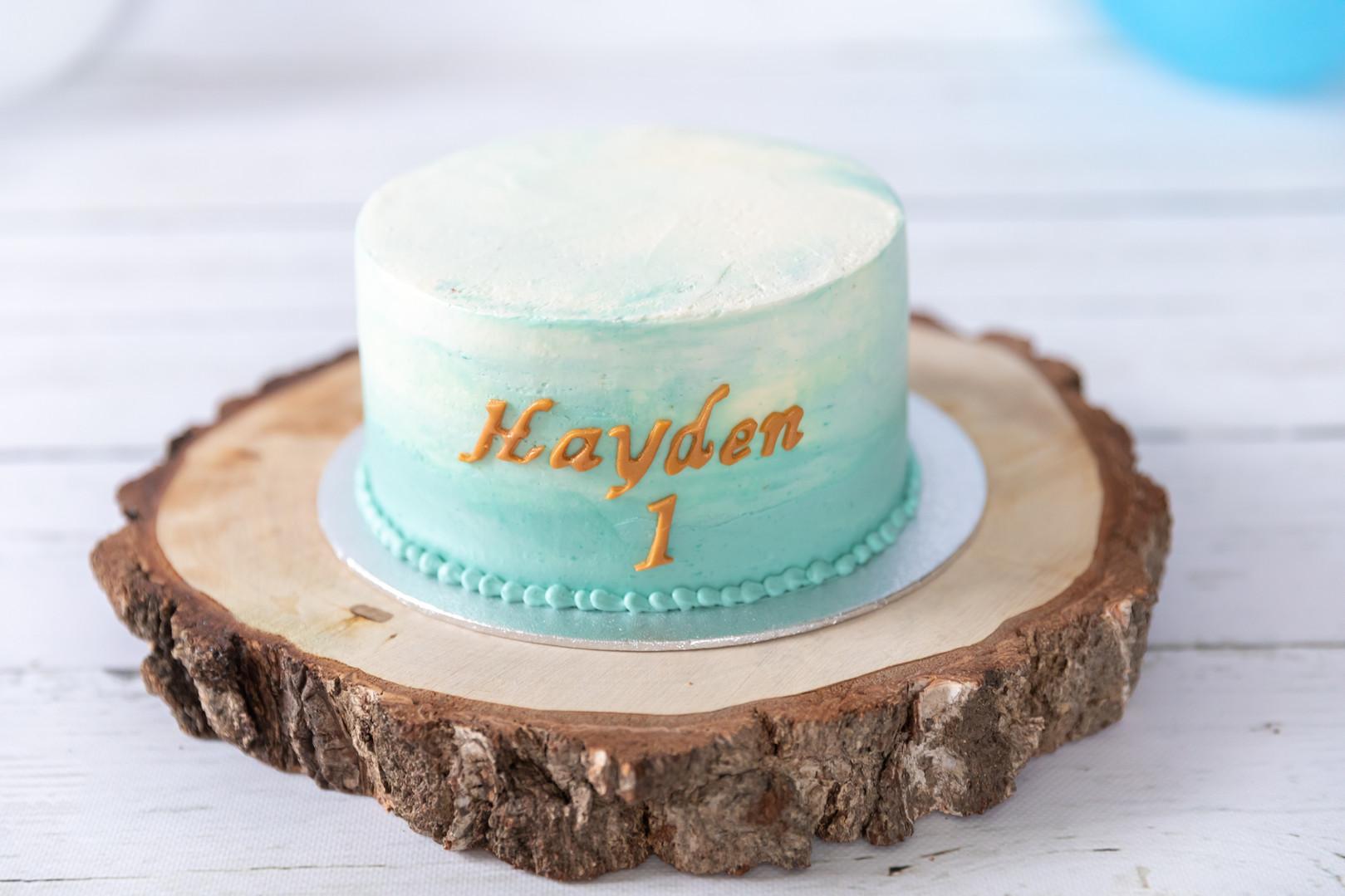 gâteau séance photo smash cake