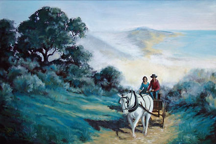 CaMary Wynne Oil Painting