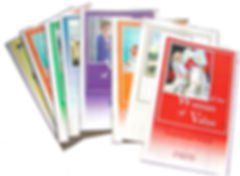 8 Women of Value Booklets