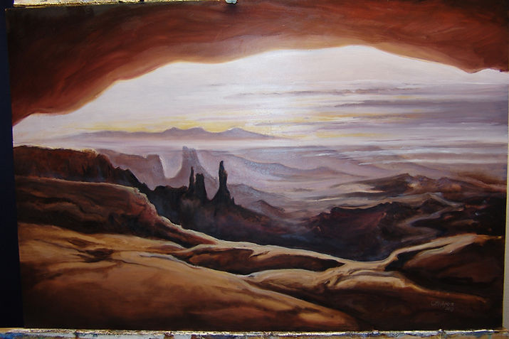 Canyonlands Oil Painting