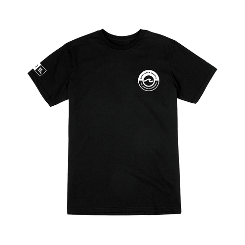 Playera Surf Open League negra