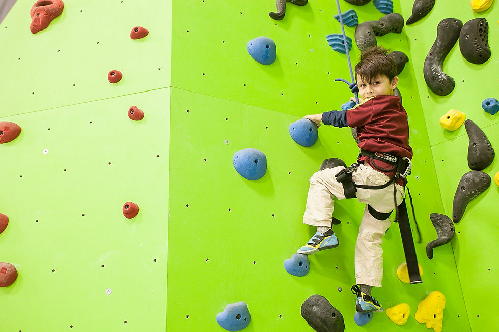 boy rock climbing on green wall.jpg
