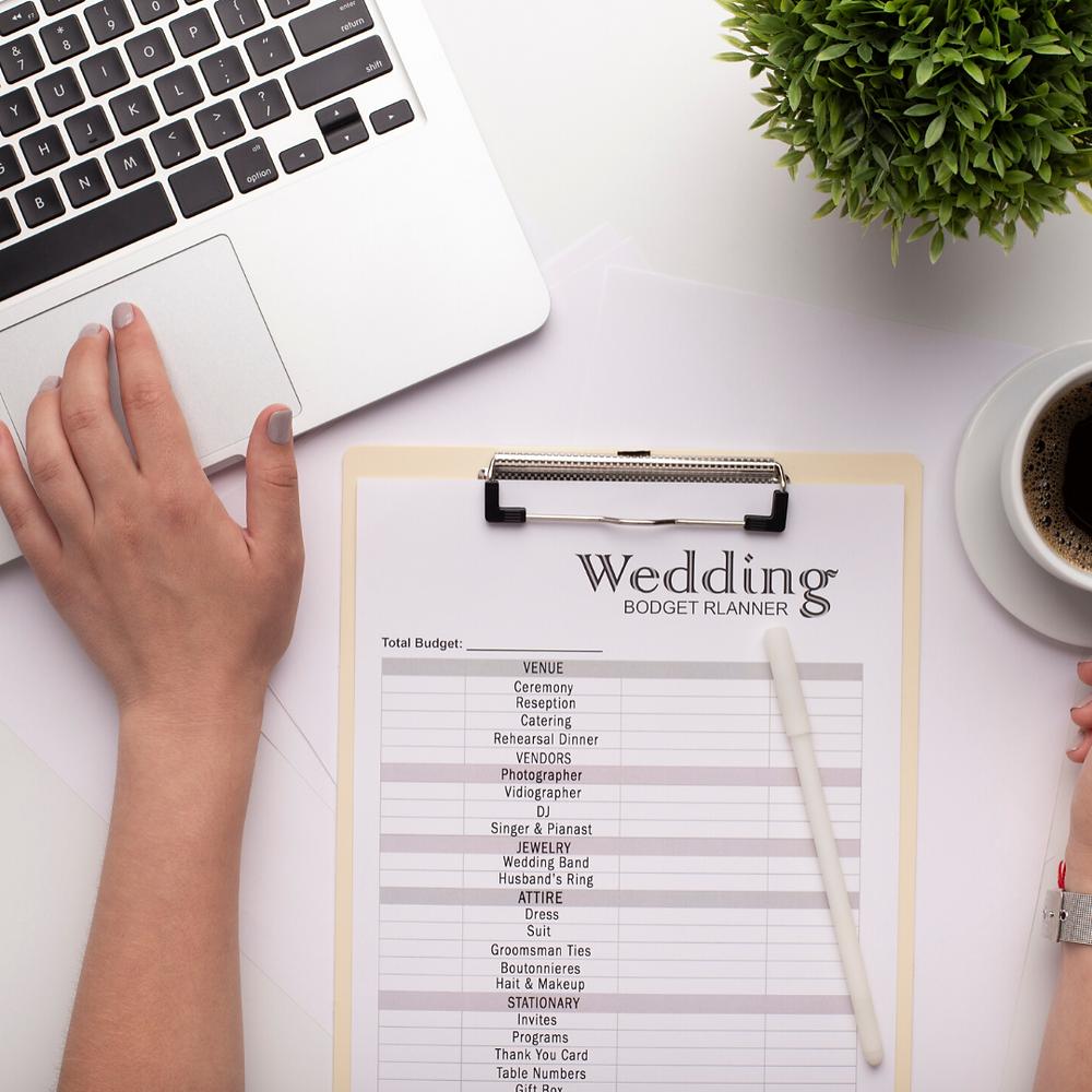 Fogli di calcolo per il wedding budget