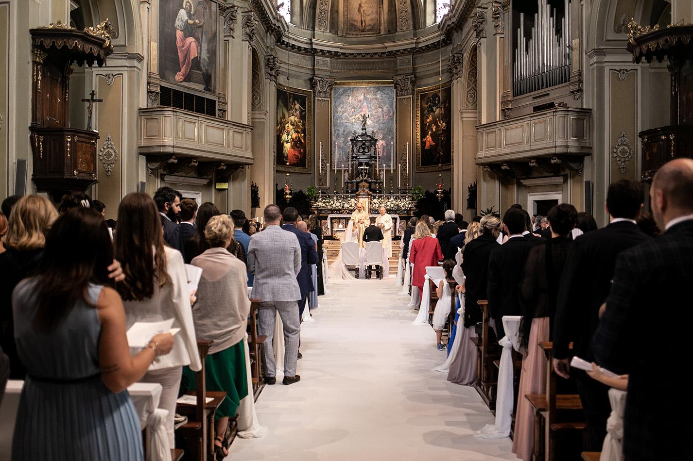 Allestimento chiesa wedding
