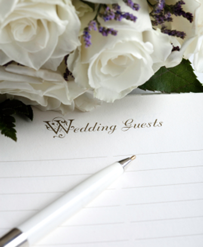 wedding, guest, list