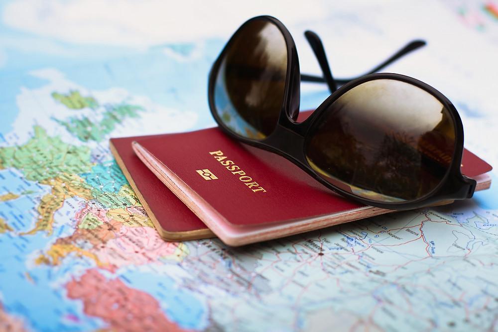 passaporto, luna di miele, viaggio, partenza, honeymoon, viaggio di nozze