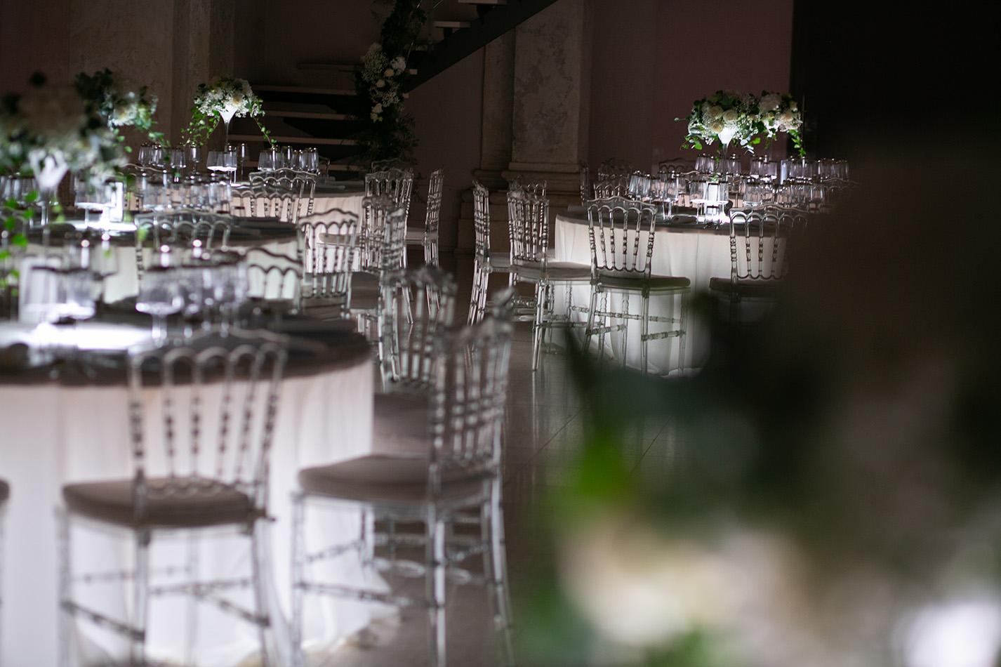 Tavoli luminosi wedding