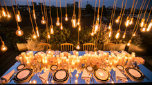 Light design: ad ogni matrimonio la propria illuminazione.