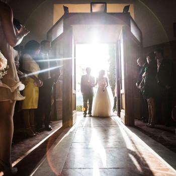L'arrivo della sposa (ph: Studio Pensiero - Roma)