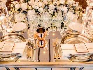 La mise en place: quando apparecchiare la tavola fa la differenza al vostro matrimonio