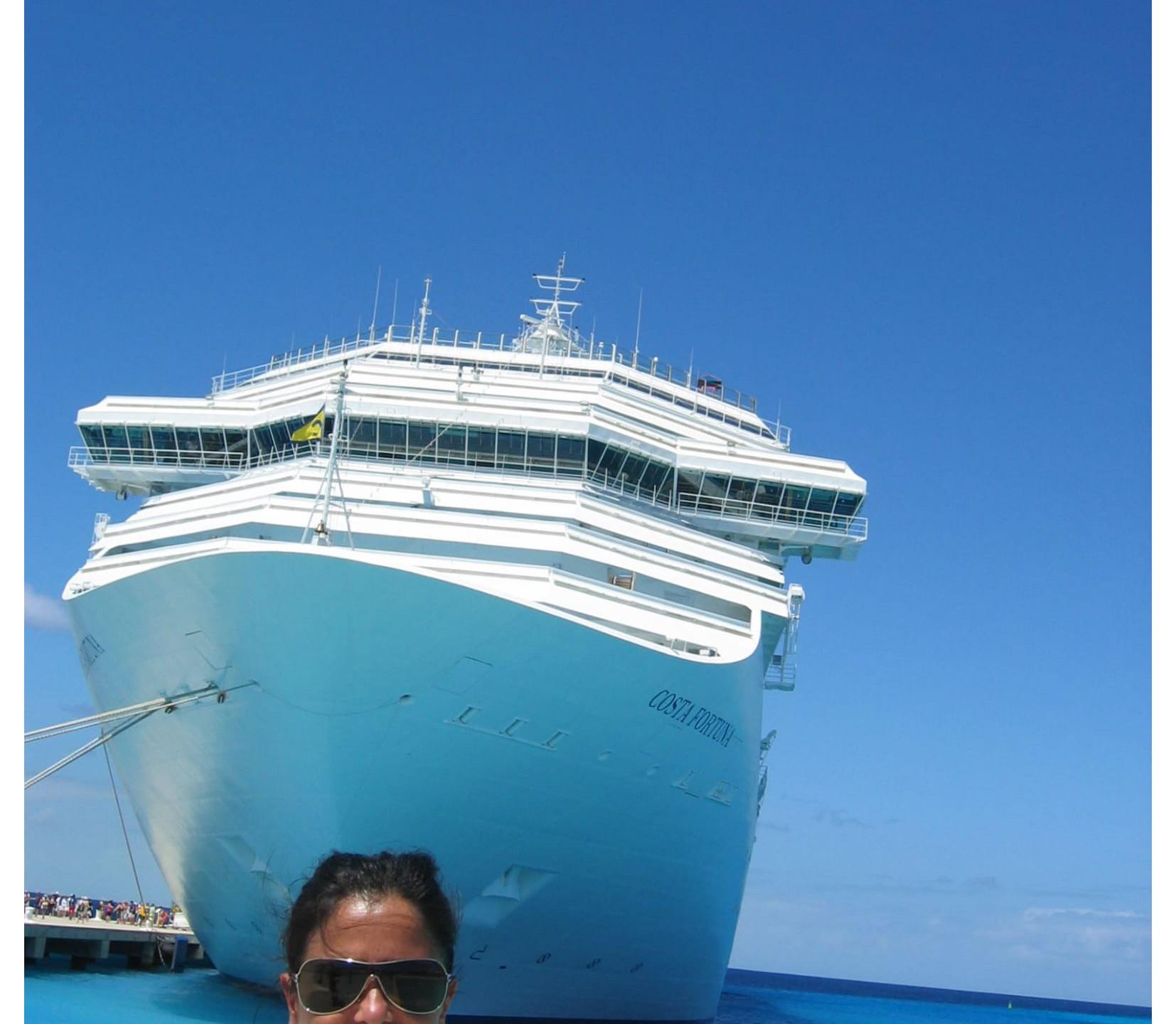 Evelyn goes cruise!