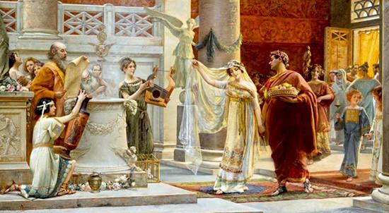matrimonio antica Roma