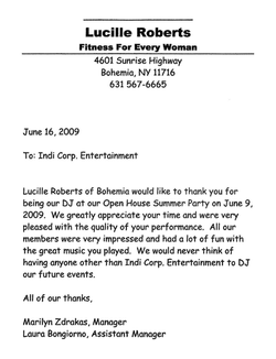 Lucille Roberts Gym Party