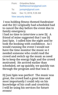 Gym Event