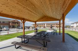 Kiva outside- under pavilion