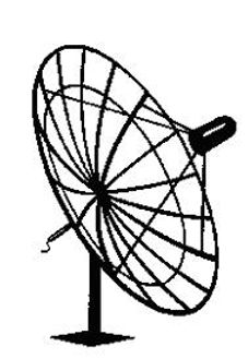 satellite dish clipart; Satellite & Pay TV to whole home