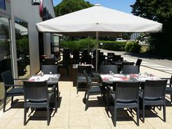 Hotel restaurant Campanile Orange terrasse