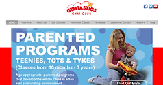 Gymtastics Website Design