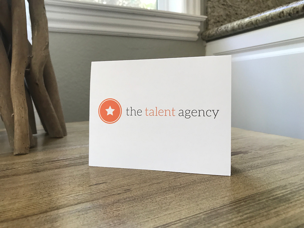 announcing the talent agency