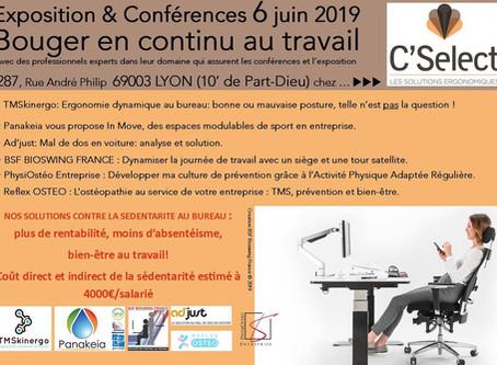 Conférence #2 à Lyon le 6 Juin avec Bioswing et C'select
