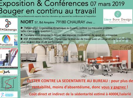 Save the date, conférence le 7 Mars à Niort.