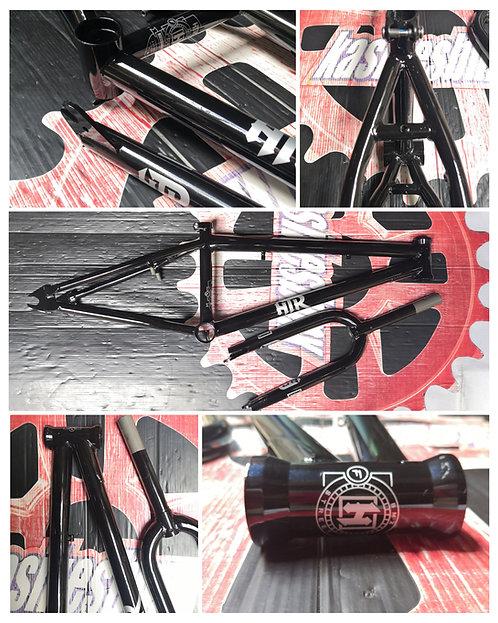 CUADRO HUNTER BMX  20.75'' C/TIJERA PIEZA NEGRO