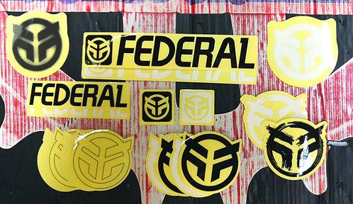 CALCAS FEDERAL 18 PZAS JUEGO
