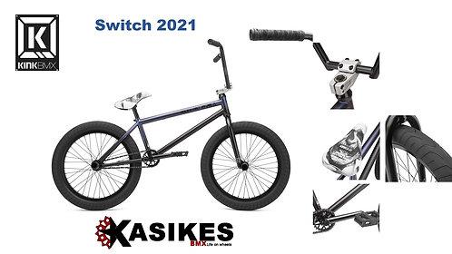 BICICLETA R-20 KINK BMX SWITCH 2021 PIEZA MORADO MATE