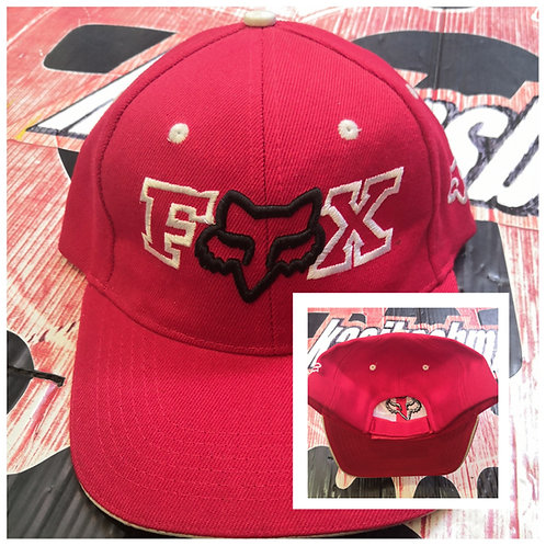 GORRA FOX AJUSTABLE PIEZA ROJO