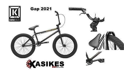 BICICLETA R-20 KINK BMX GAP 2021 PIEZA NEGRO CROMADO