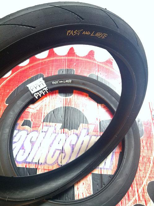 LLANTA CULT FAST & LOOSE WALSH 20X2.40'' 110PSI PIEZA NEGRO