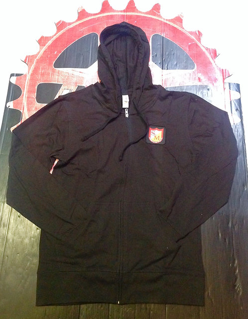CHAMARRA S&M LIGHTWEIGHT SHIELD ZIP UP PIEZA NEGRO