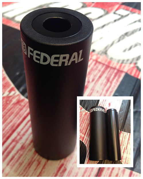 DIABLO FEDERAL PLASTIC CHROMOLY C/PROTECTOR PIEZA NEGRO