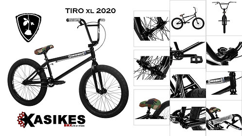 BICICLETA R-20 SUBROSA TIRO XL 2020 PIEZA GRIS