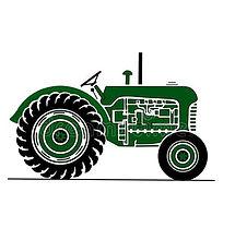 old-farm-tractor-illustration-green-side
