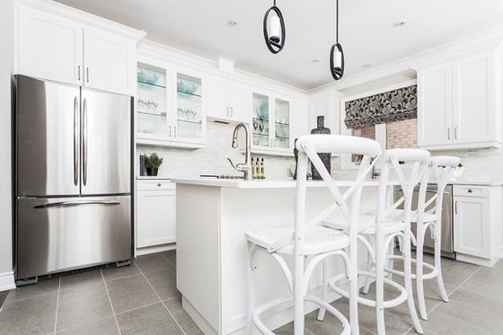 Kitchen Design Basics for good flow around a kitchen island.