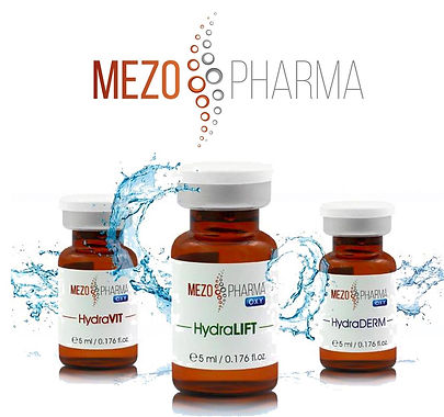 Mezopharma serums for SMARTMeso mesotherapy system