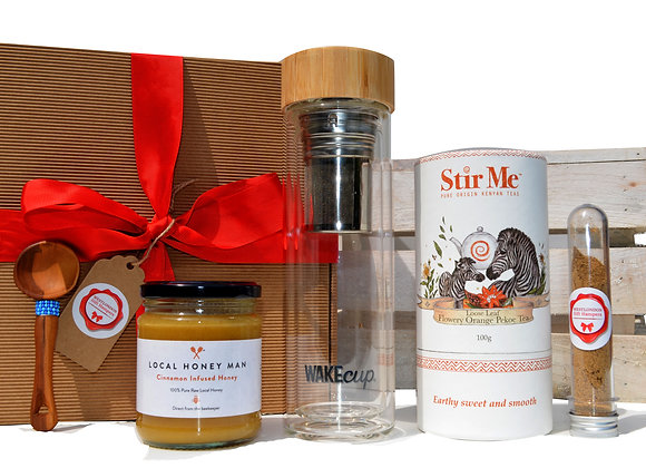 London Honey & Tea infuser Gift Box