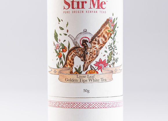 Stir Me Golden Tips White Tea 50g