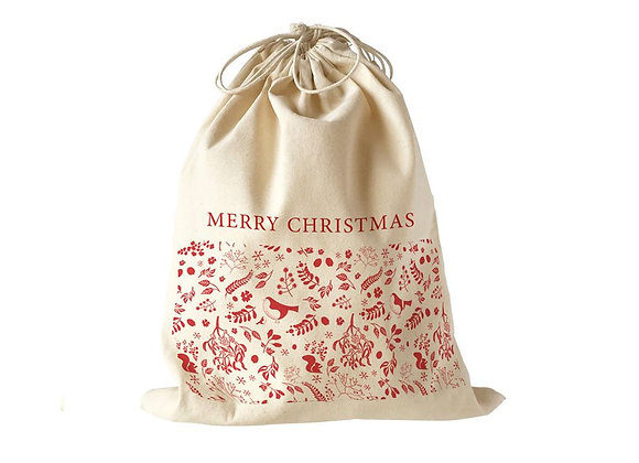 Large drawstring Christmas sack