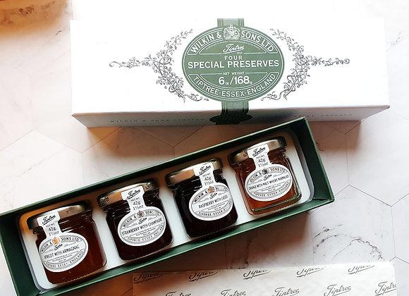 Tiptree four special preserves