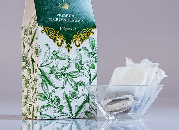 Green tea - 50 teabags