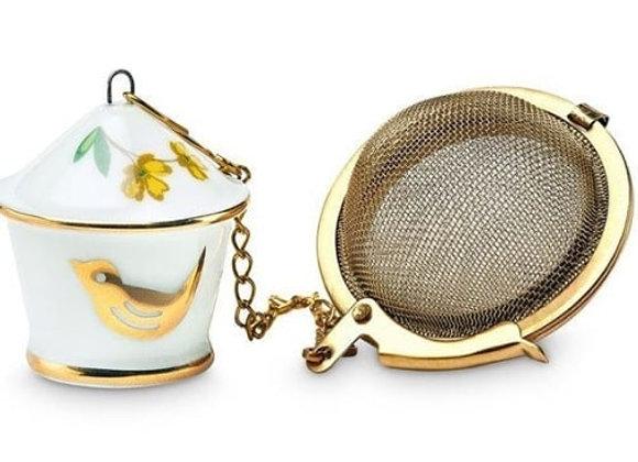 Porcelain tea infuser
