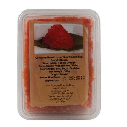 Tobiko Orange Taiwan 500gm