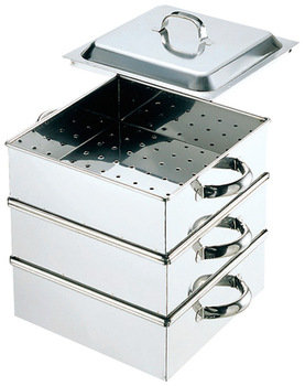Stainless Steamer Square